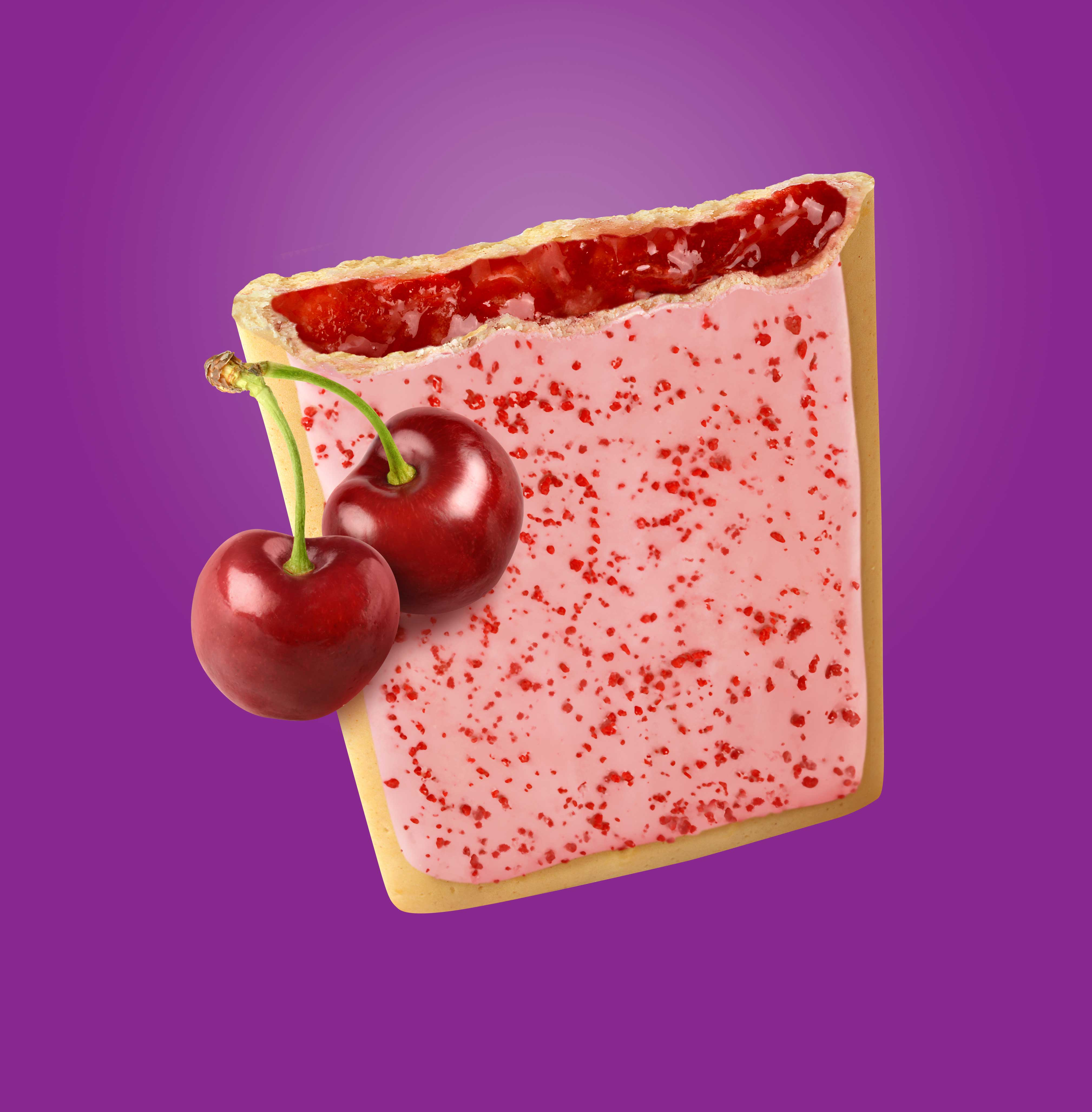 mike wepplo photoreal photography frosted cherry pop tart