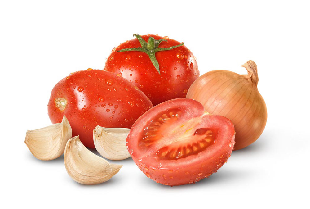 Tomato-Onion-Garlic