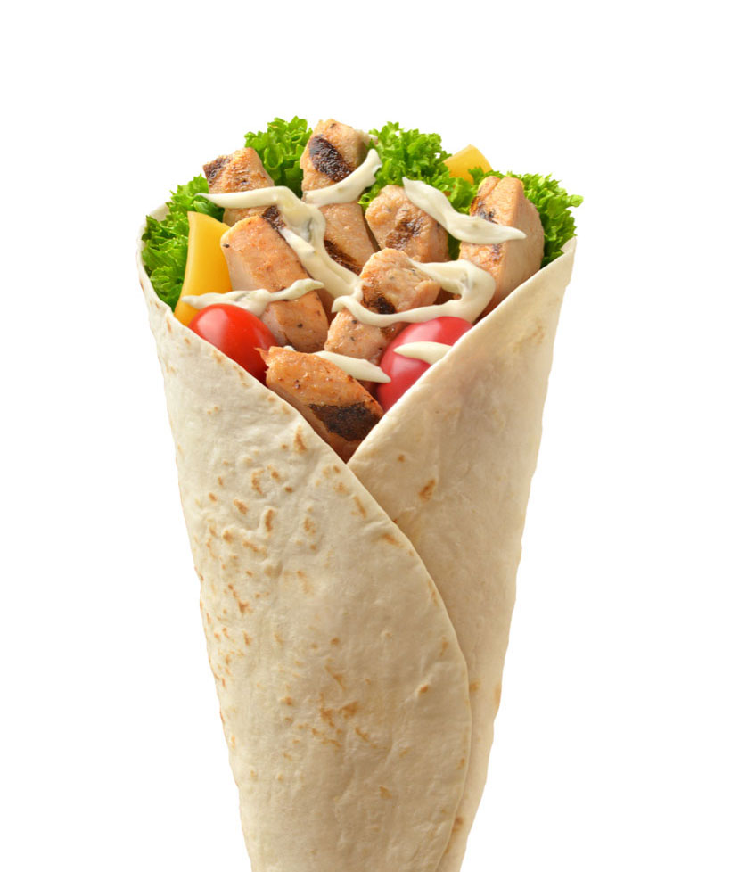 mike wepplo photoreal photography chicken wrap