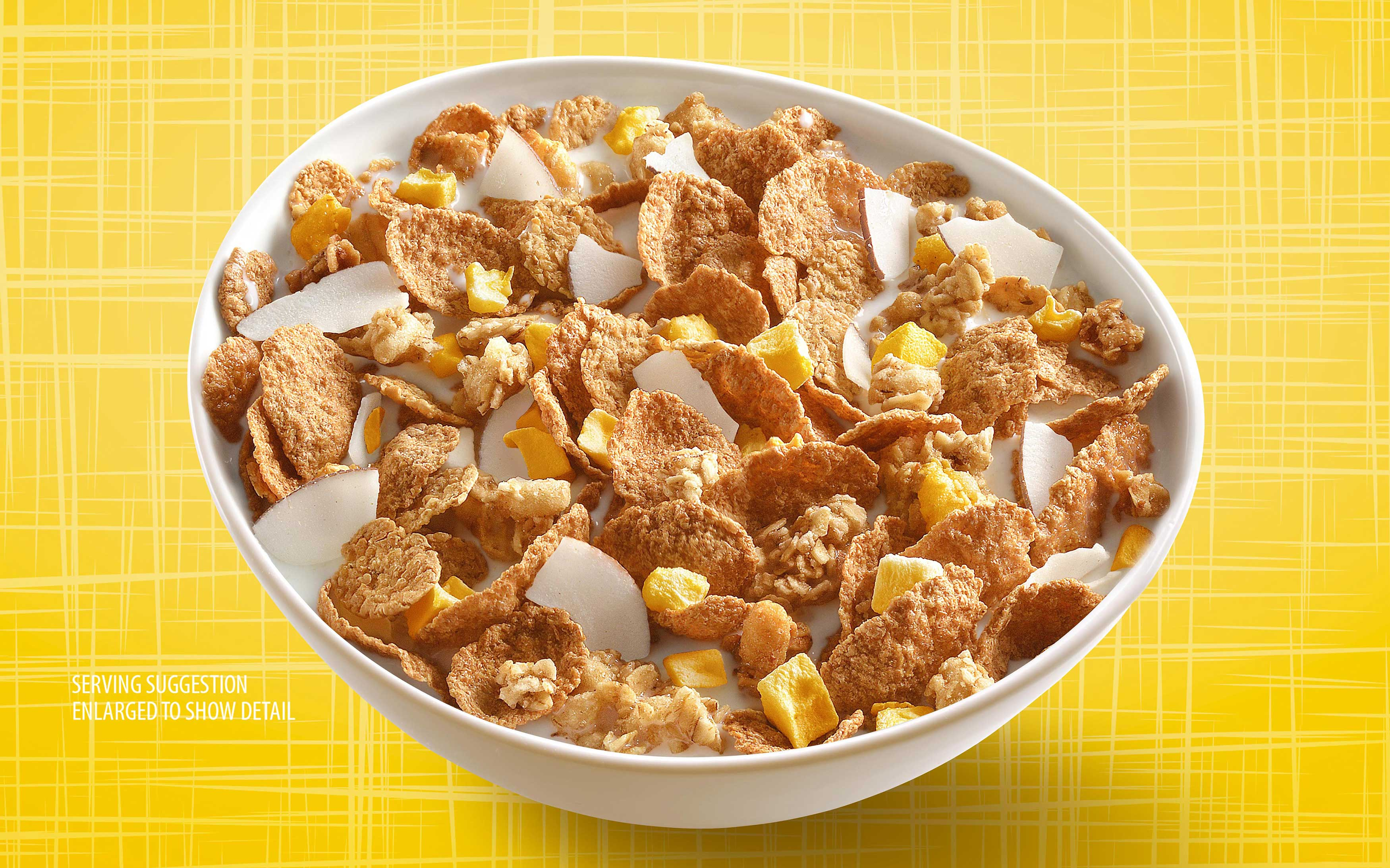 mike wepplo photoreal photography mango cereal