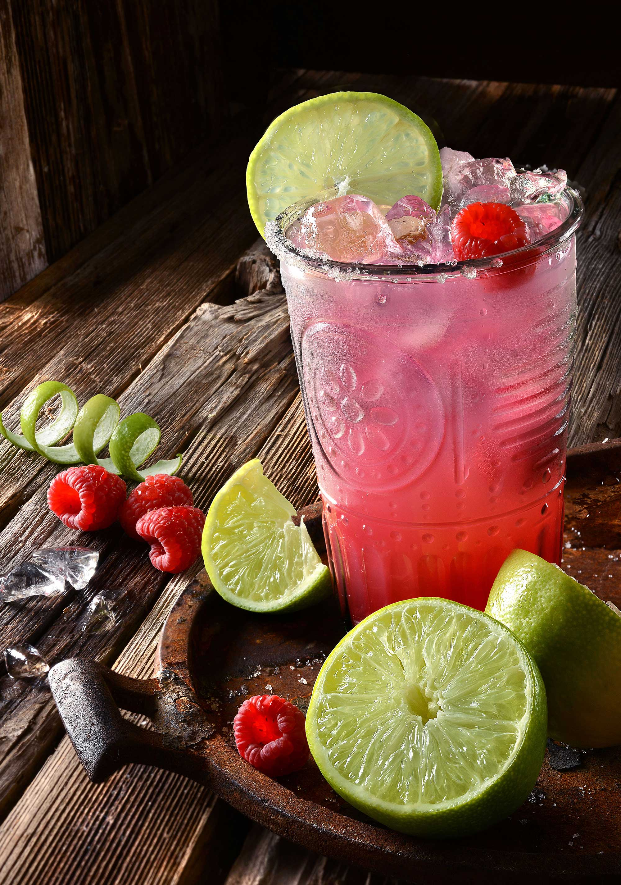 mike wepplo natural photography raspberry limeade drink