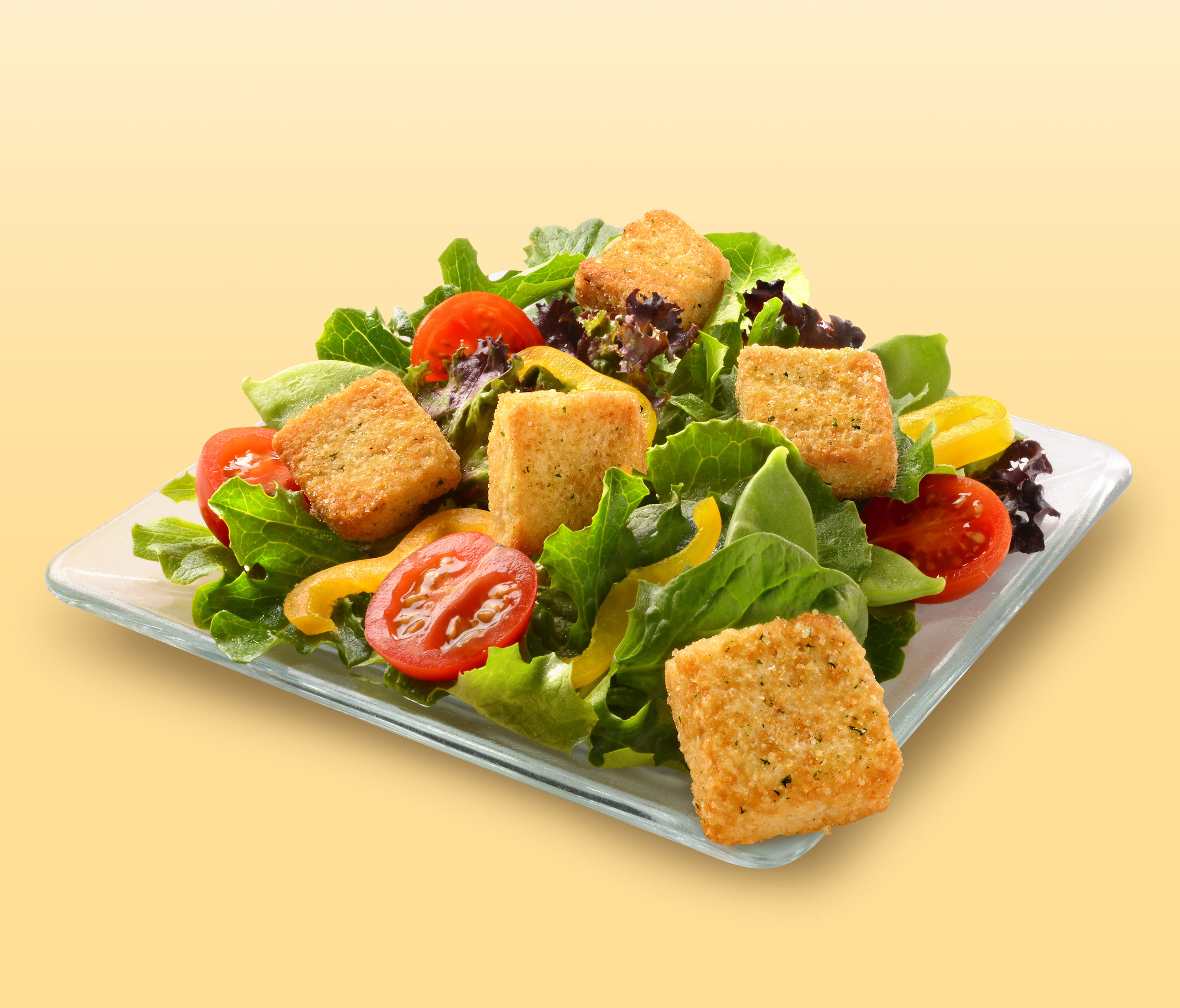 mike wepplo photoreal photography salad tomato peppers croutons