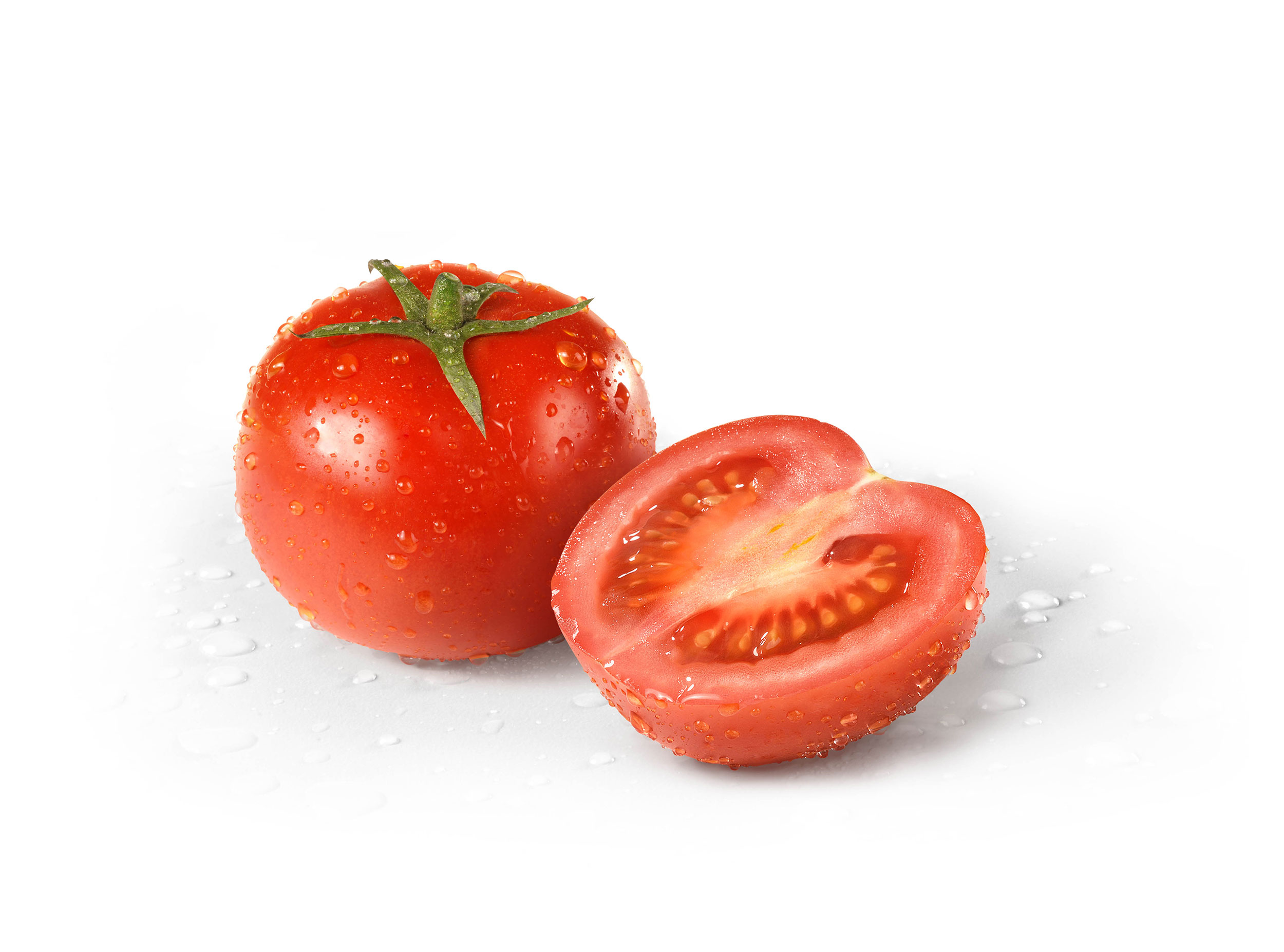 mike wepplo photoreal photography tomato water drops